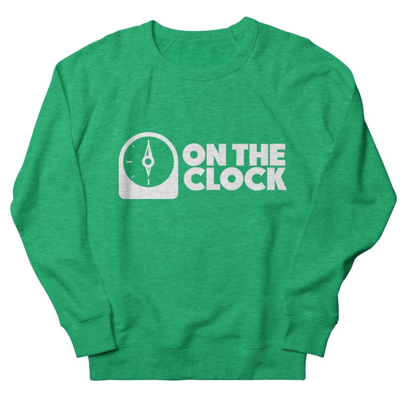 Polyvinyl - On The Clock Men's French Terry Sweatshirt by Polyvinyl Threadless Shop