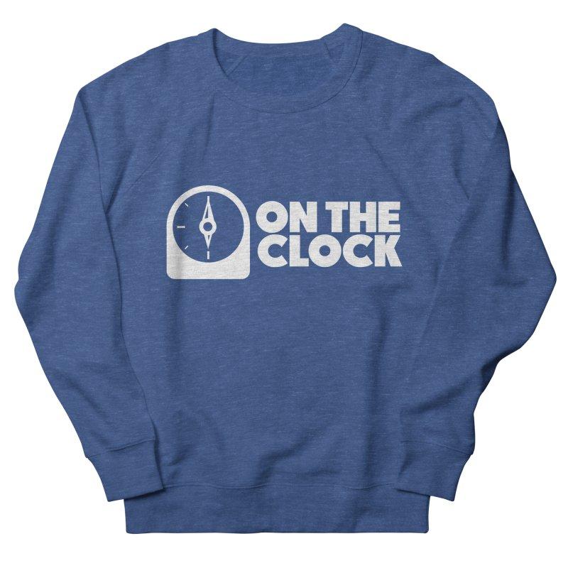 Polyvinyl - On The Clock Men's French Terry Sweatshirt by Polyvinyl Threadless Shop