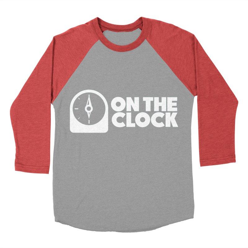 Polyvinyl - On The Clock Men's Baseball Triblend Longsleeve T-Shirt by Polyvinyl Threadless Shop