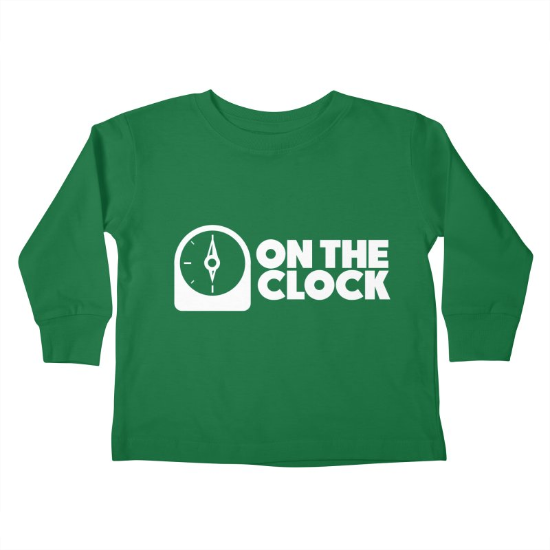 Polyvinyl - On The Clock Kids Toddler Longsleeve T-Shirt by Polyvinyl Threadless Shop
