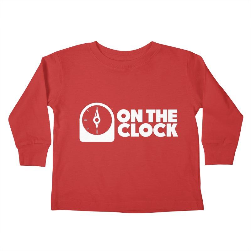 Polyvinyl - On The Clock Kids Toddler Longsleeve T-Shirt by Polyvinyl Threadless Shop