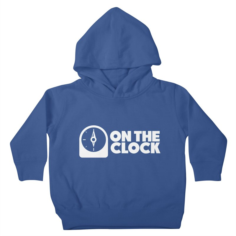 Polyvinyl - On The Clock Kids Toddler Pullover Hoody by Polyvinyl Threadless Shop
