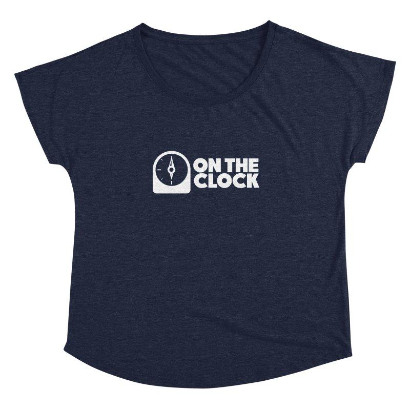 Polyvinyl - On The Clock Women's Dolman Scoop Neck by Polyvinyl Threadless Shop