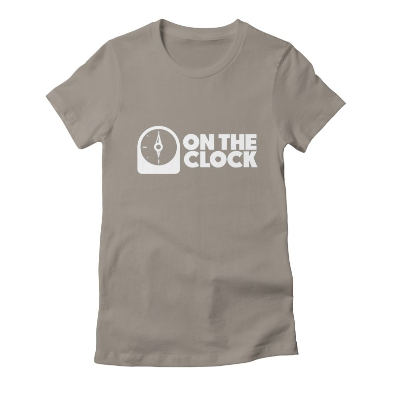 Polyvinyl - On The Clock Women's Fitted T-Shirt by Polyvinyl Threadless Shop