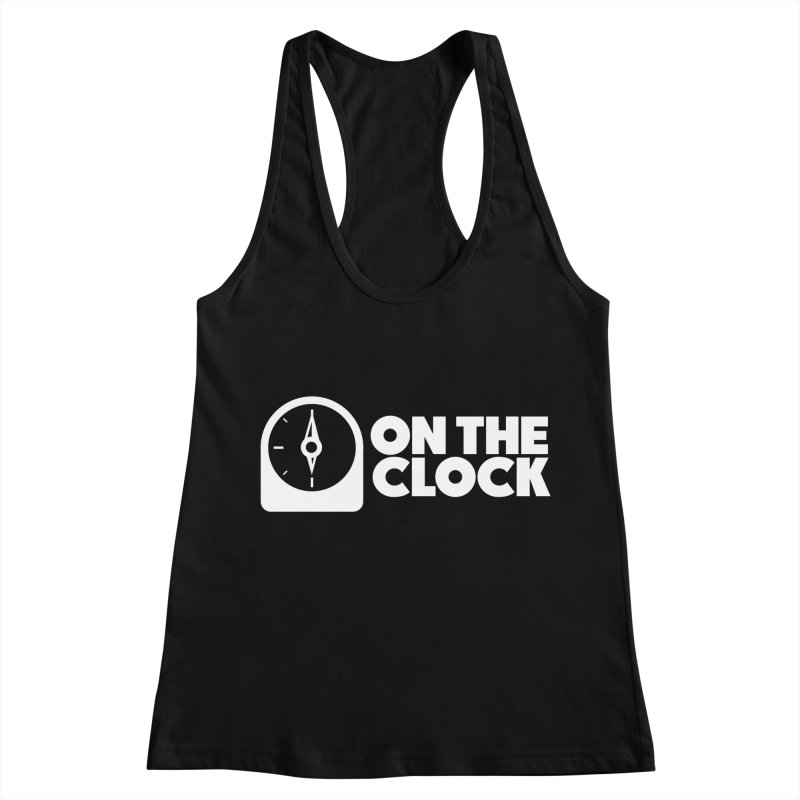 Polyvinyl - On The Clock Women's Racerback Tank by Polyvinyl Threadless Shop