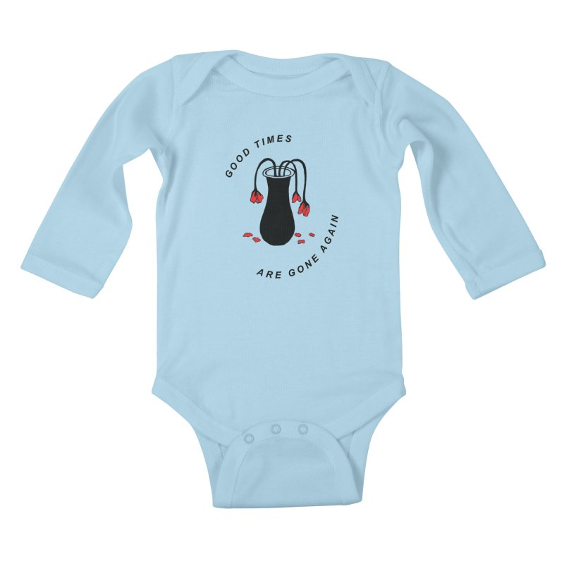 Fred Thomas - Good Times Are Gone Again Kids Baby Longsleeve Bodysuit by Polyvinyl Threadless Shop