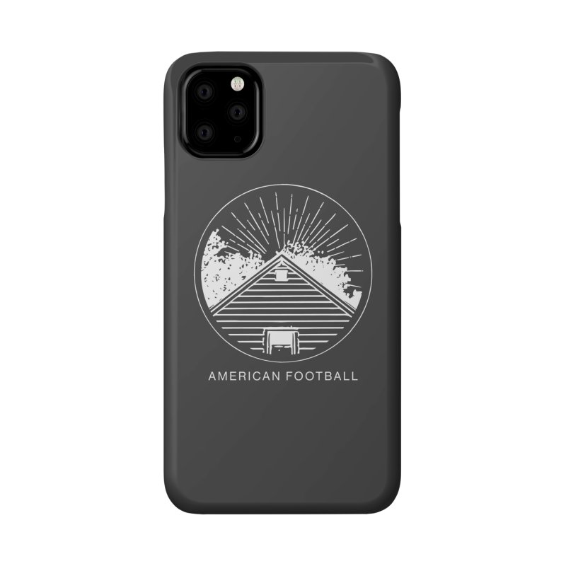 American Football - Home is Where the Haunt is Accessories Phone Case by Polyvinyl Threadless Shop