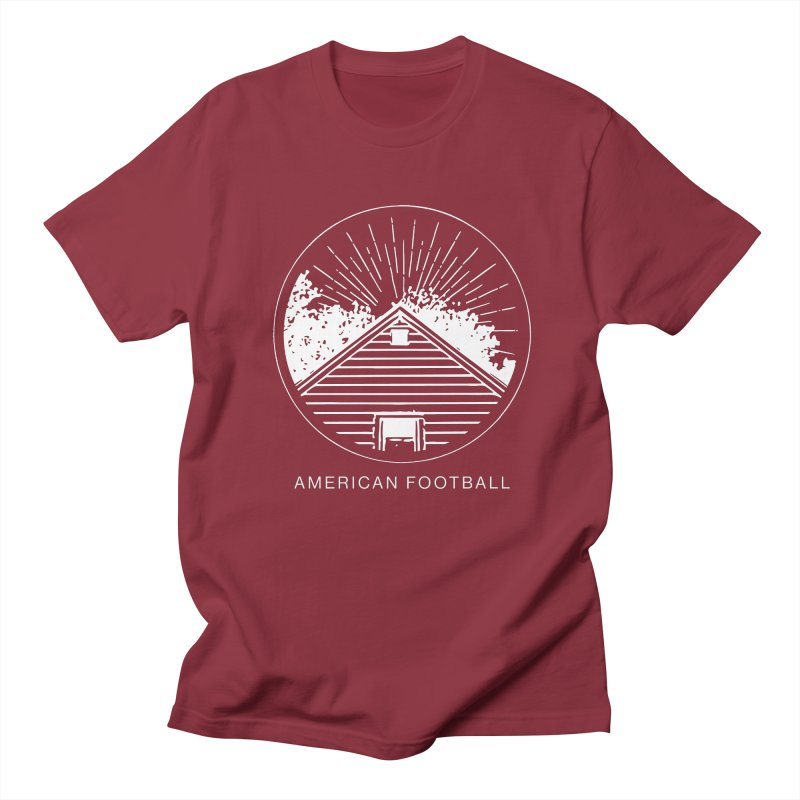 American Football - Home is Where the Haunt is in Men's Regular T-Shirt Scarlet Red by Polyvinyl Threadless Shop