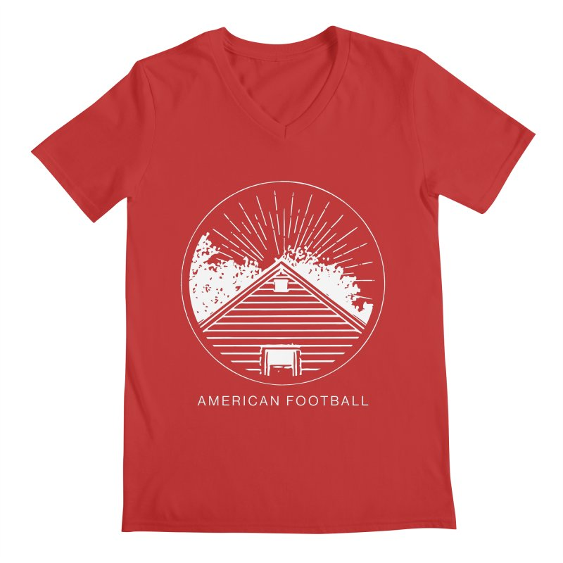 American Football - Home is Where the Haunt is Men's V-Neck by Polyvinyl Threadless Shop
