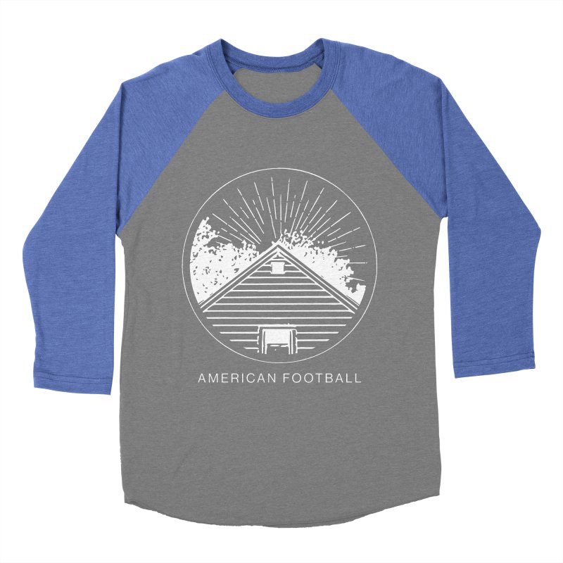 American Football - Home is Where the Haunt is Men's Baseball Triblend Longsleeve T-Shirt by Polyvinyl Threadless Shop