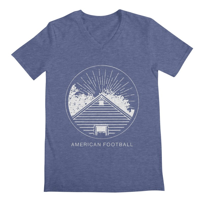 American Football - Home is Where the Haunt is Men's Regular V-Neck by Polyvinyl Threadless Shop