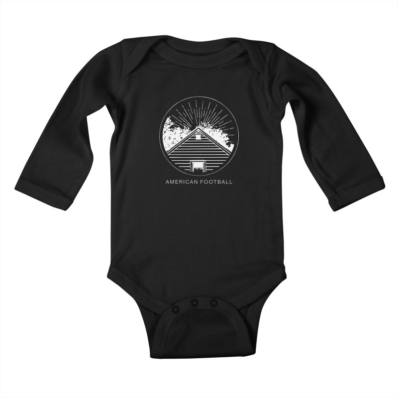 American Football - Home is Where the Haunt is Kids Baby Longsleeve Bodysuit by Polyvinyl Threadless Shop
