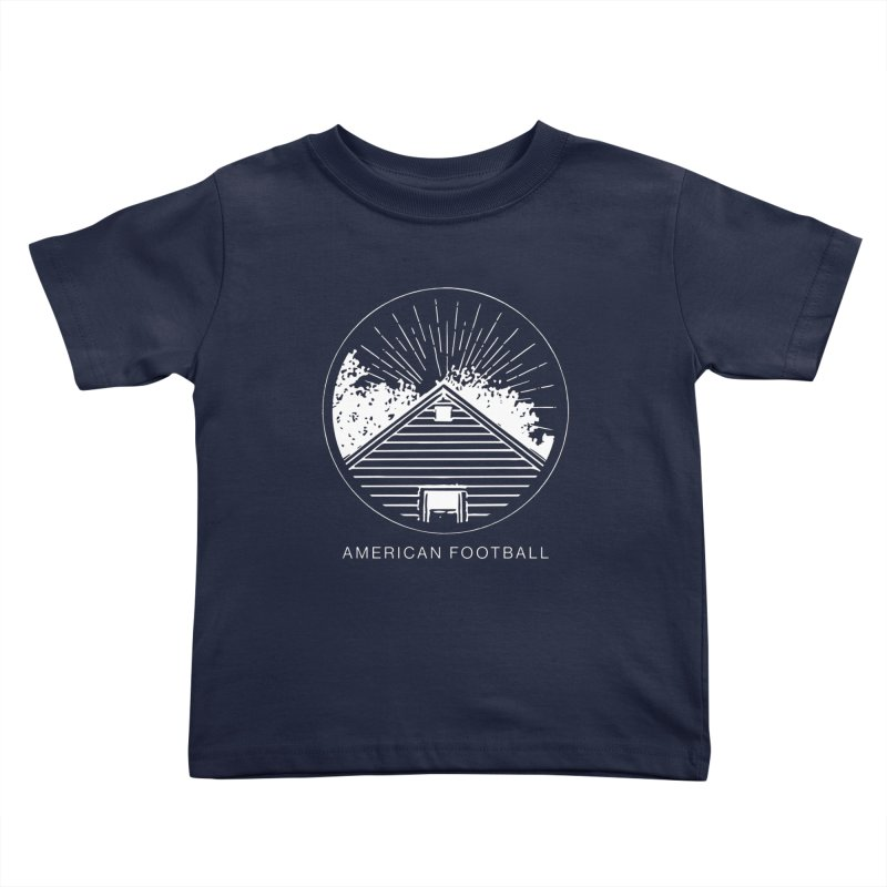 American Football - Home is Where the Haunt is Kids Toddler T-Shirt by Polyvinyl Threadless Shop