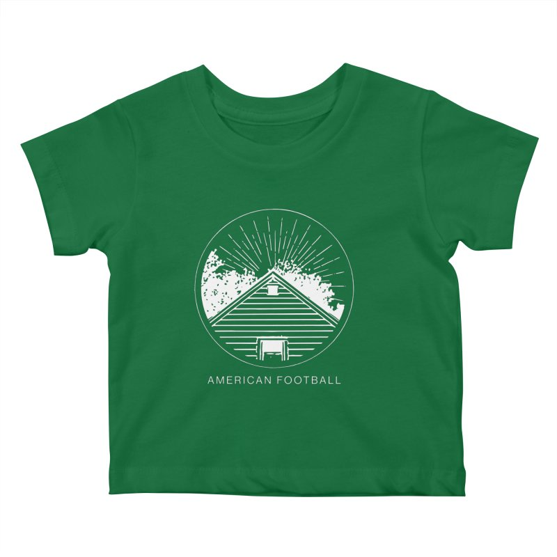 American Football - Home is Where the Haunt is Kids Baby T-Shirt by Polyvinyl Threadless Shop