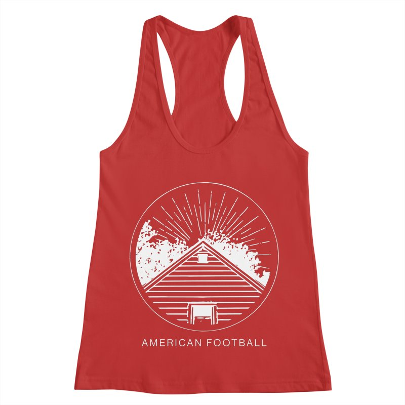 American Football - Home is Where the Haunt is Women's Racerback Tank by Polyvinyl Threadless Shop