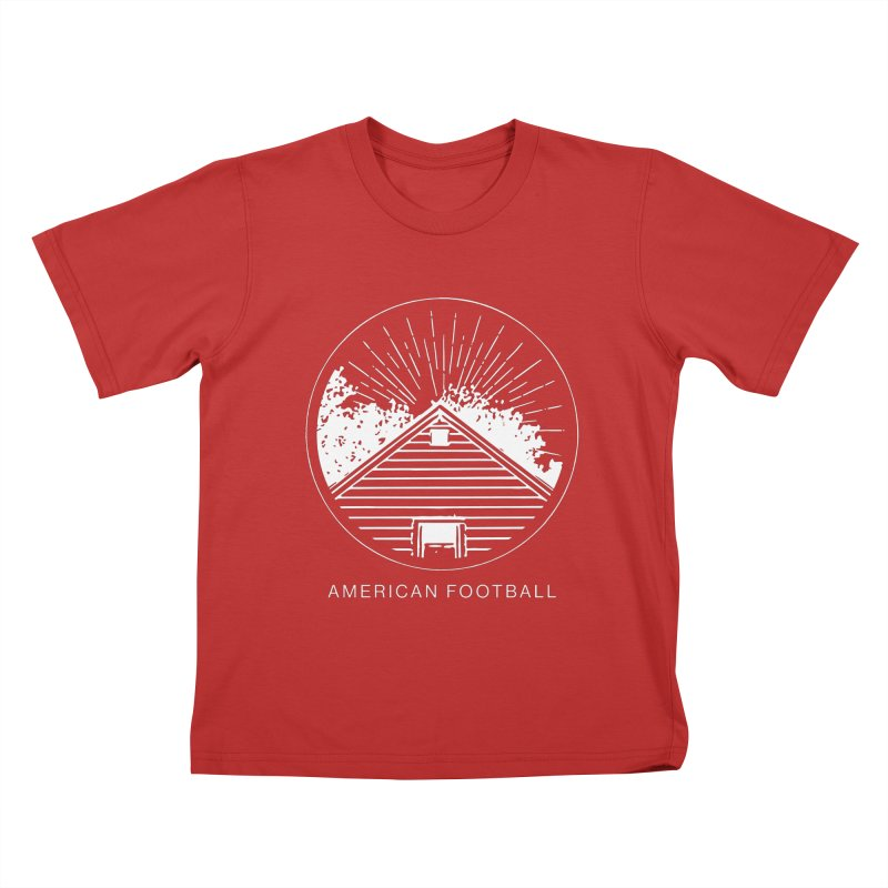 American Football - Home is Where the Haunt is Kids T-Shirt by Polyvinyl Threadless Shop