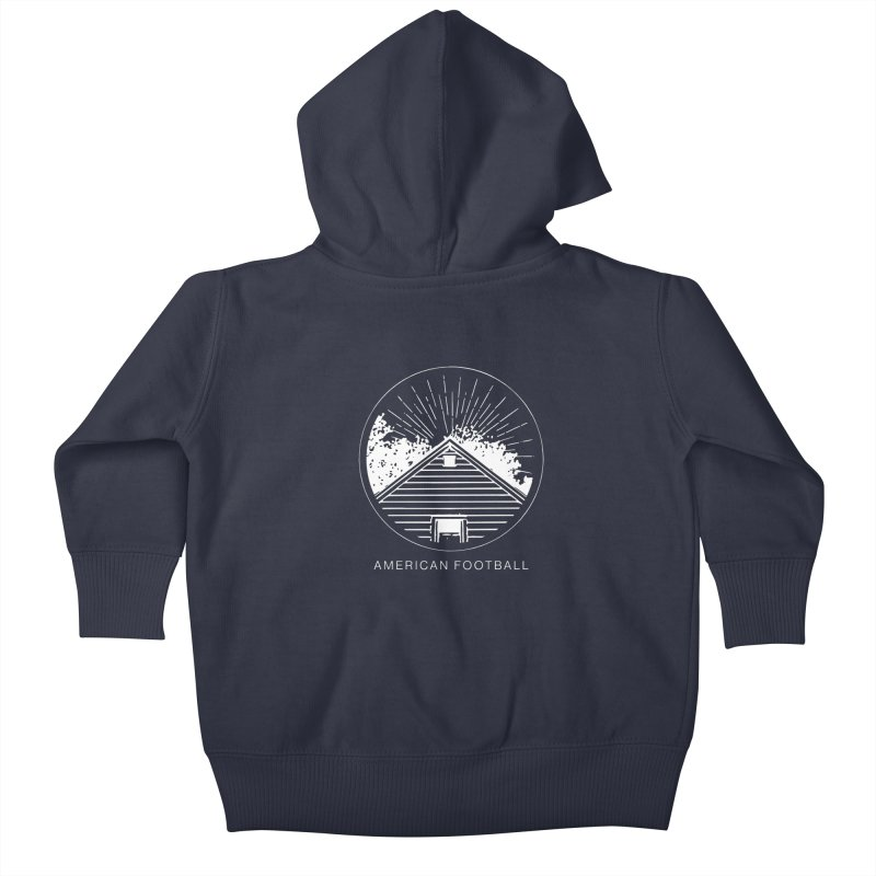 American Football - Home is Where the Haunt is Kids Baby Zip-Up Hoody by Polyvinyl Threadless Shop