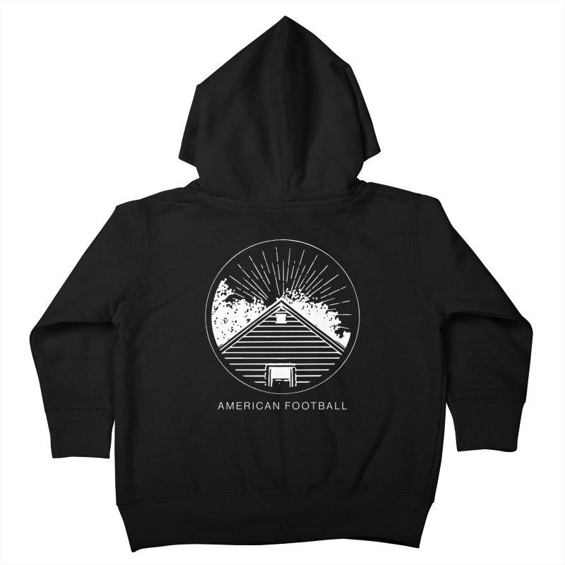 American Football - Home is Where the Haunt is Kids Toddler Zip-Up Hoody by Polyvinyl Threadless Shop