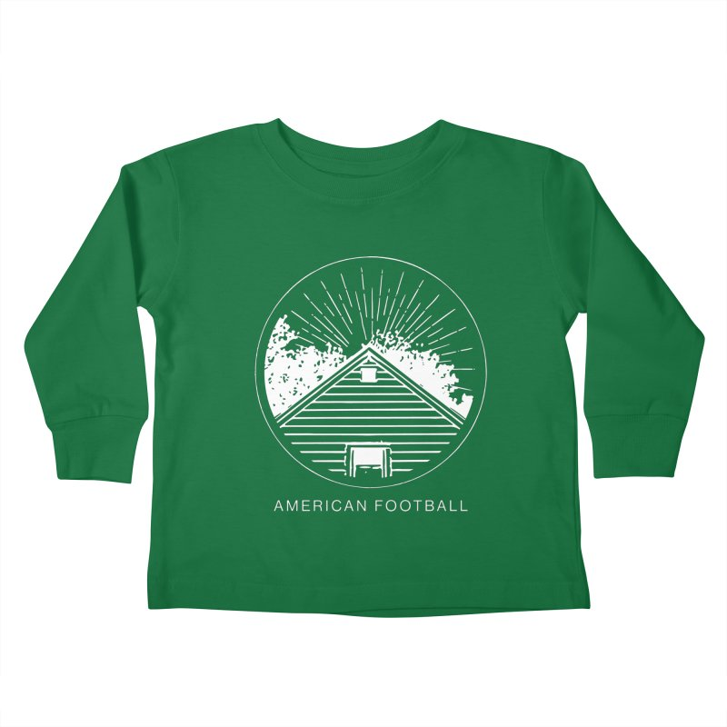 American Football - Home is Where the Haunt is Kids Toddler Longsleeve T-Shirt by Polyvinyl Threadless Shop