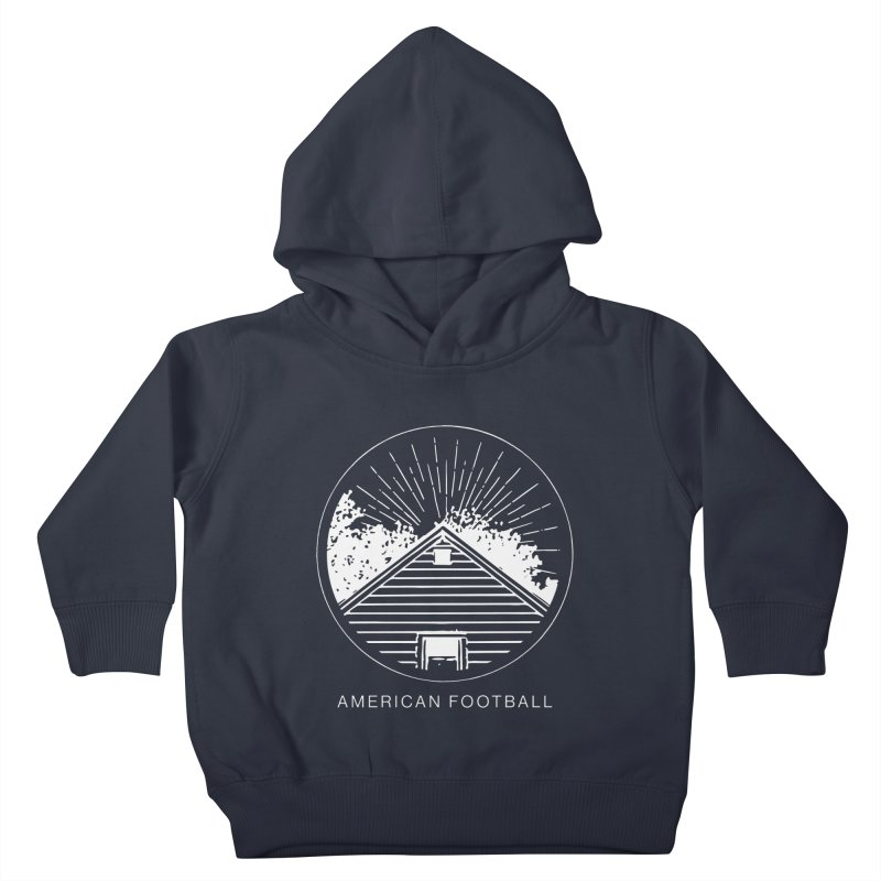 American Football - Home is Where the Haunt is Kids Toddler Pullover Hoody by Polyvinyl Threadless Shop