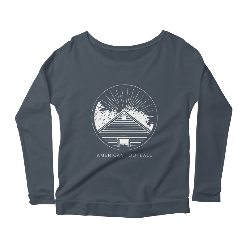 American Football - Home is Where the Haunt is Women's Scoop Neck Longsleeve T-Shirt by Polyvinyl Threadless Shop