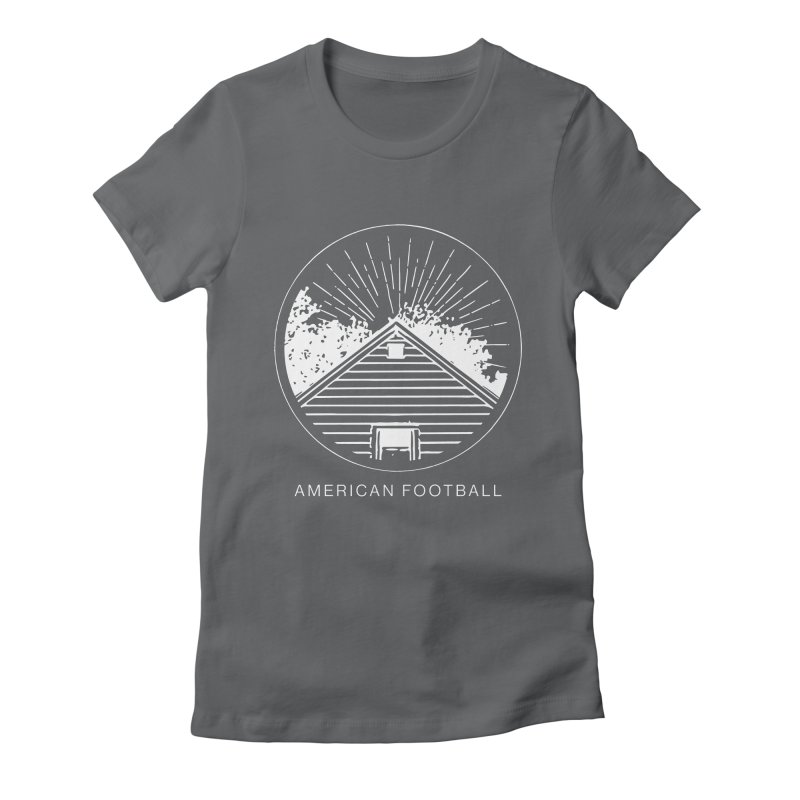 American Football - Home is Where the Haunt is Women's Fitted T-Shirt by Polyvinyl Threadless Shop