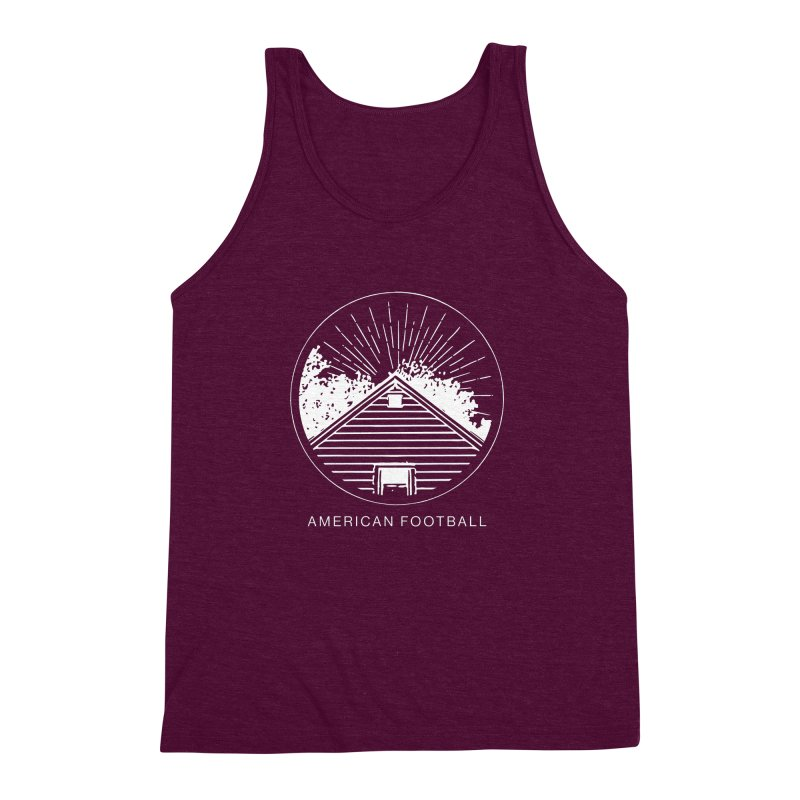 American Football - Home is Where the Haunt is Men's Triblend Tank by Polyvinyl Threadless Shop