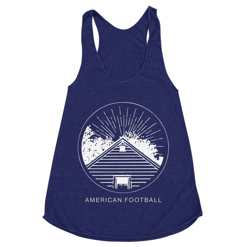 American Football - Home is Where the Haunt is Women's Racerback Triblend Tank by Polyvinyl Threadless Shop