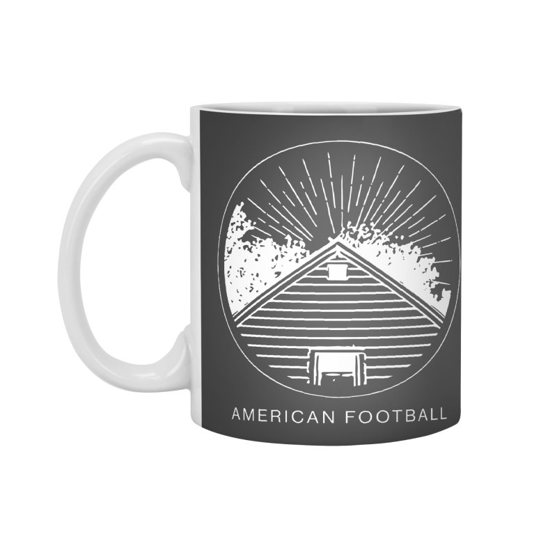 American Football - Home is Where the Haunt is Accessories Mug by Polyvinyl Threadless Shop