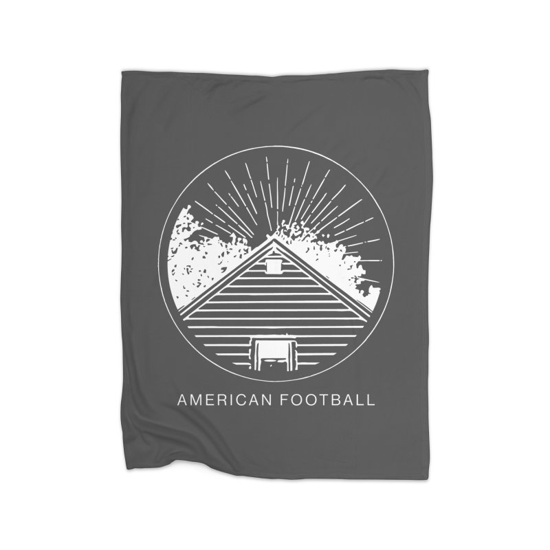 American Football - Home is Where the Haunt is Home Fleece Blanket Blanket by Polyvinyl Threadless Shop