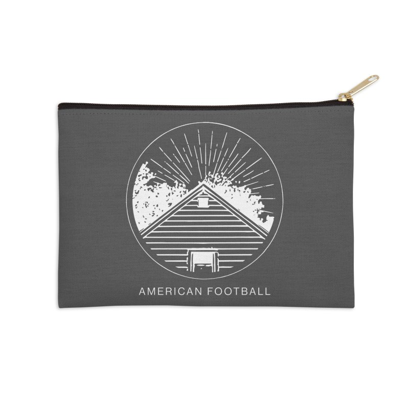 American Football - Home is Where the Haunt is Accessories Zip Pouch by Polyvinyl Threadless Shop