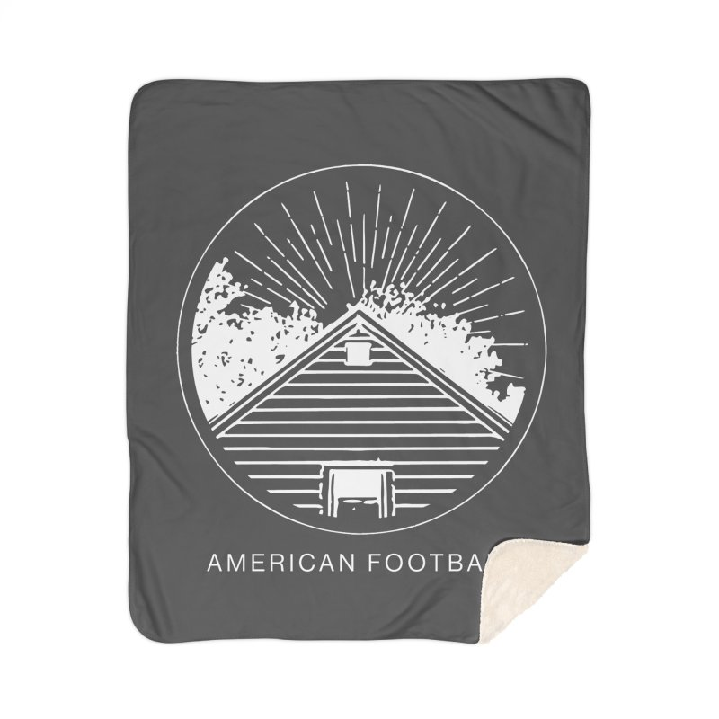 American Football - Home is Where the Haunt is Home Sherpa Blanket Blanket by Polyvinyl Threadless Shop
