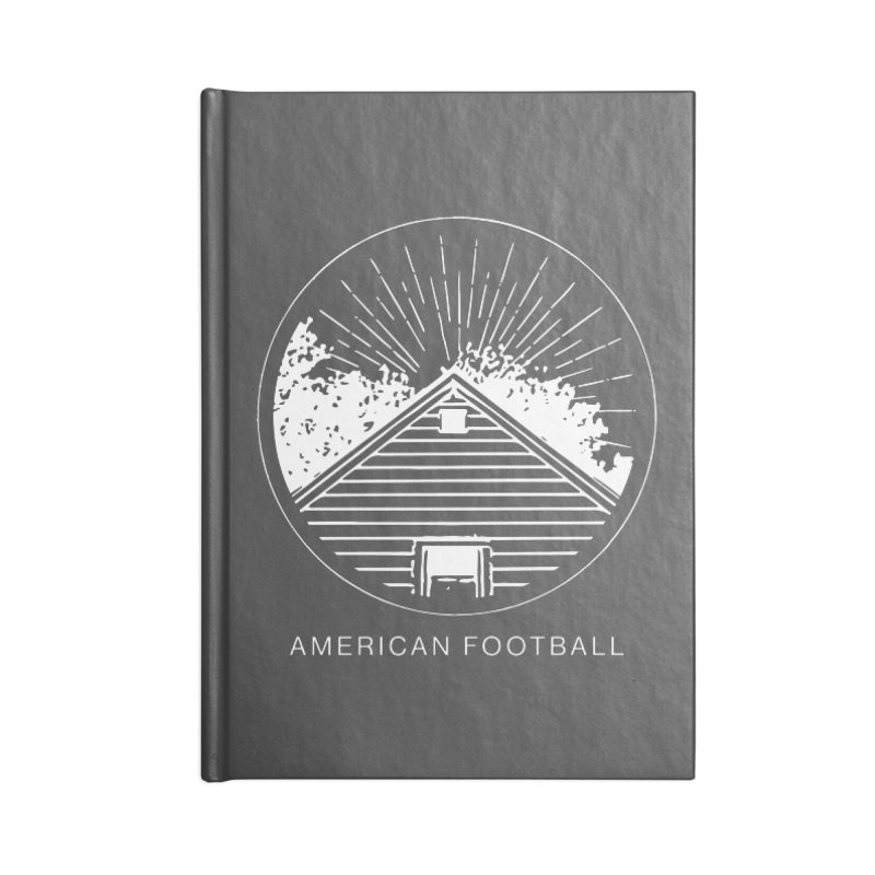 American Football - Home is Where the Haunt is Accessories Lined Journal Notebook by Polyvinyl Threadless Shop