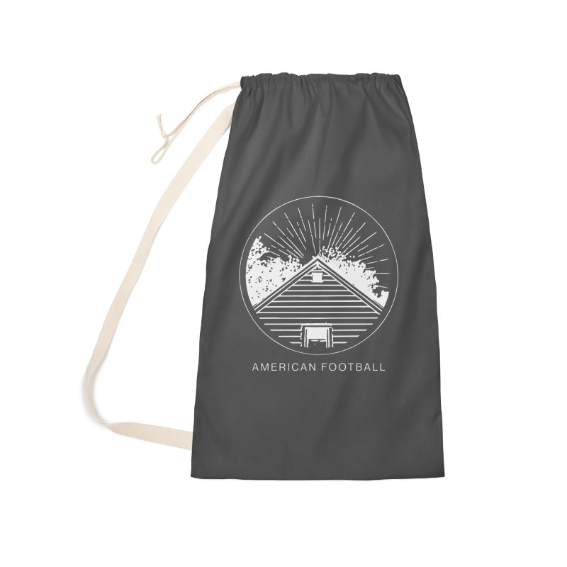 American Football - Home is Where the Haunt is Accessories Laundry Bag Bag by Polyvinyl Threadless Shop
