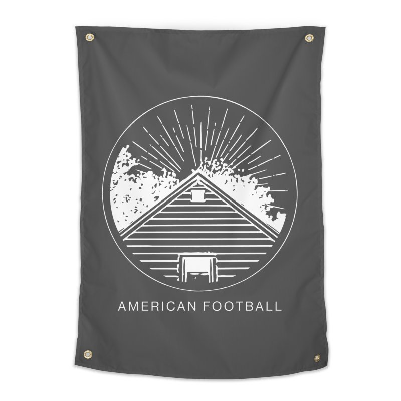 American Football - Home is Where the Haunt is Home Tapestry by Polyvinyl Threadless Shop