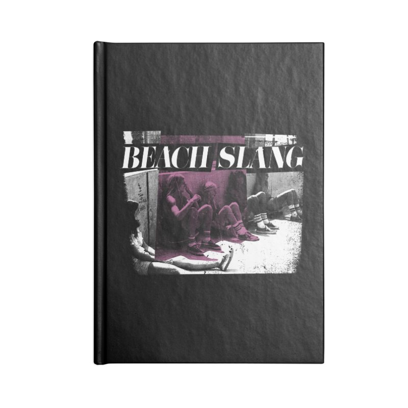 Beach Slang - Latch Key Accessories Lined Journal Notebook by Polyvinyl Threadless Shop