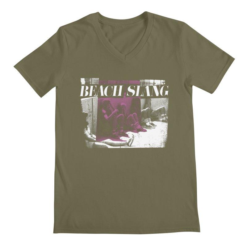 Beach Slang - Latch Key Men's V-Neck by Polyvinyl Threadless Shop