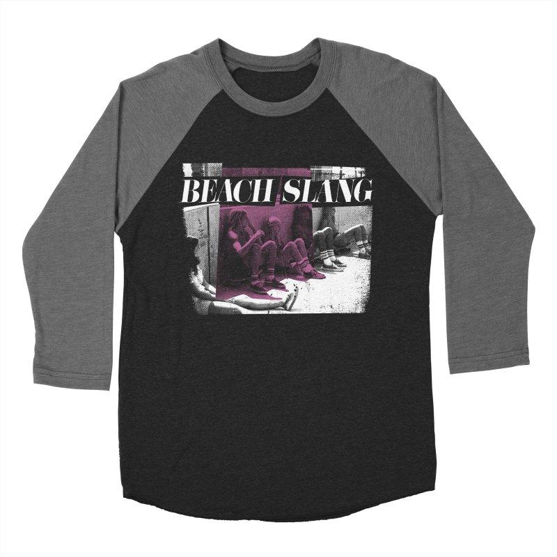 Beach Slang - Latch Key Men's Baseball Triblend Longsleeve T-Shirt by Polyvinyl Threadless Shop