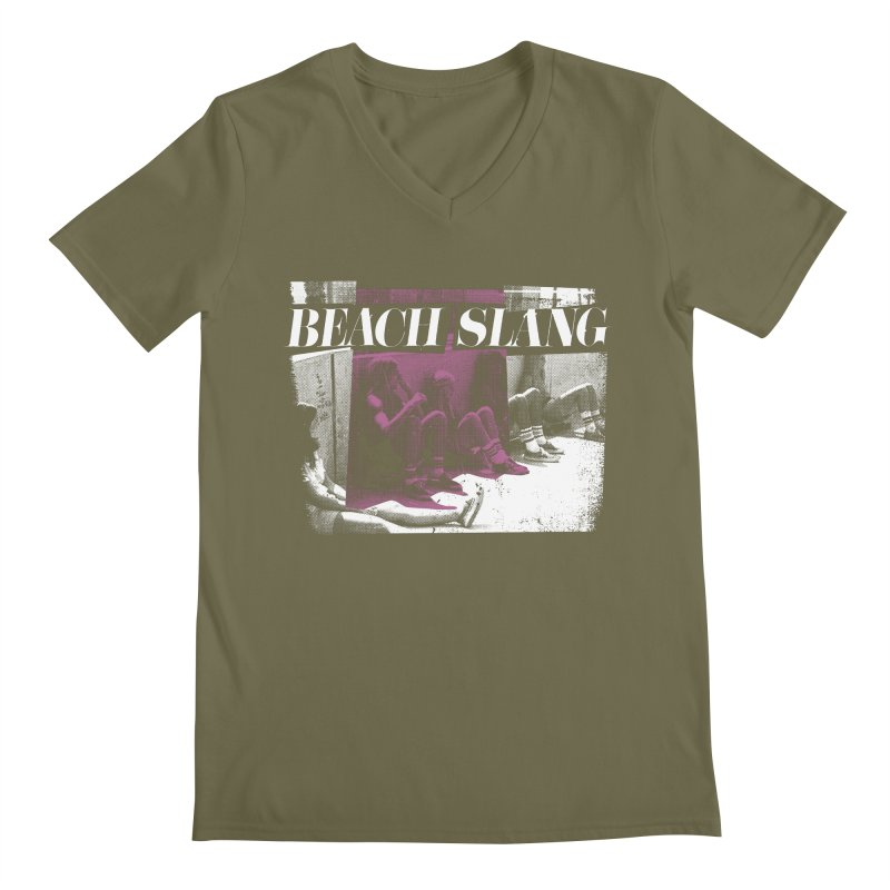 Beach Slang - Latch Key Men's Regular V-Neck by Polyvinyl Threadless Shop