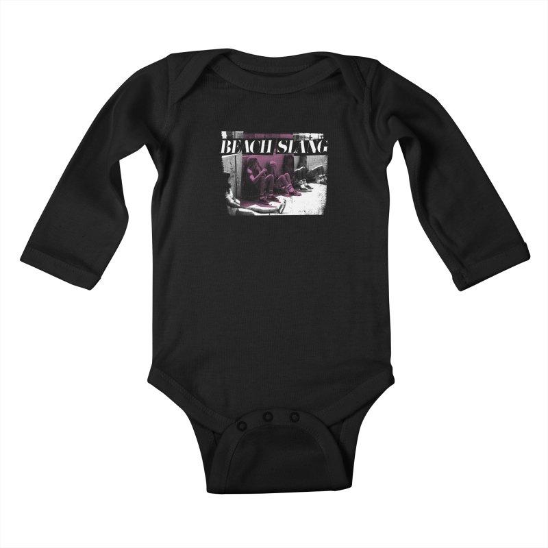 Beach Slang - Latch Key Kids Baby Longsleeve Bodysuit by Polyvinyl Threadless Shop
