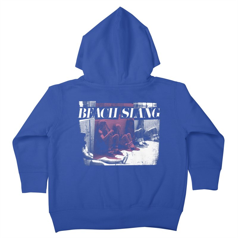 Beach Slang - Latch Key Kids Toddler Zip-Up Hoody by Polyvinyl Threadless Shop
