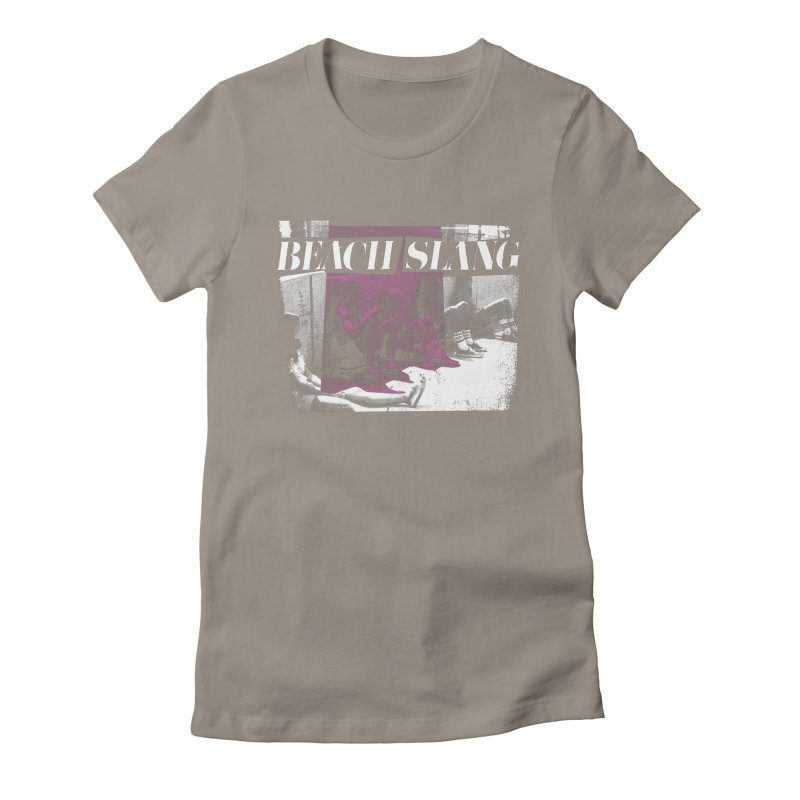 Beach Slang - Latch Key Women's Fitted T-Shirt by Polyvinyl Threadless Shop