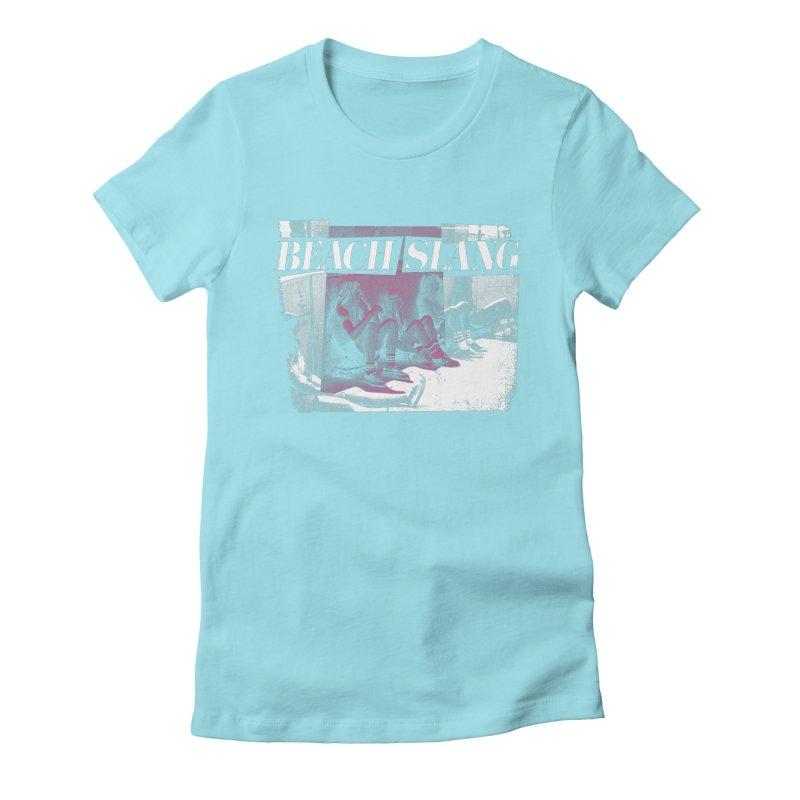 Beach Slang - Latch Key Women's Fitted T-Shirt by Polyvinyl Threadless Shop