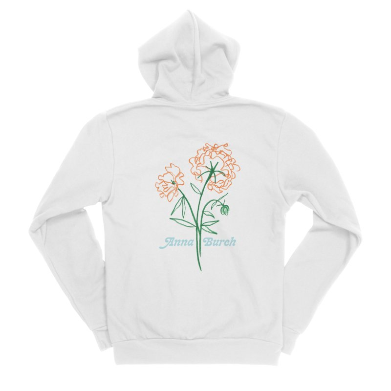 Anna Burch - Wall Flowers Women's Zip-Up Hoody by Polyvinyl Threadless Shop