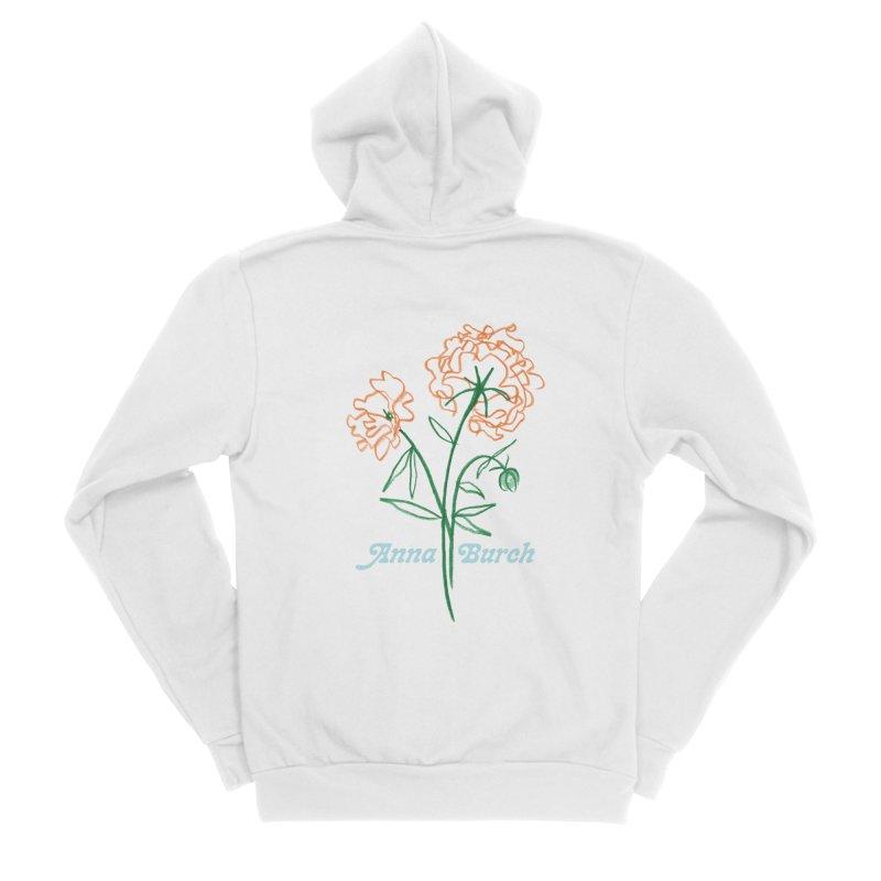 Anna Burch - Wall Flowers Women's Zip-Up Hoody by Polyvinyl Threadless Shop