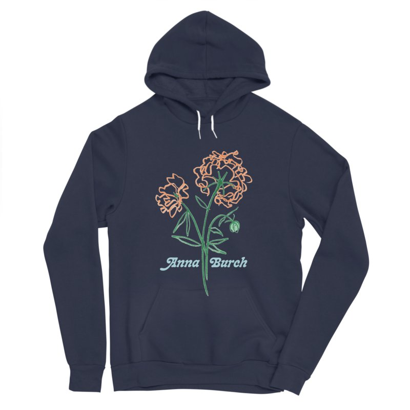 Anna Burch - Wall Flowers Women's Sponge Fleece Pullover Hoody by Polyvinyl Threadless Shop