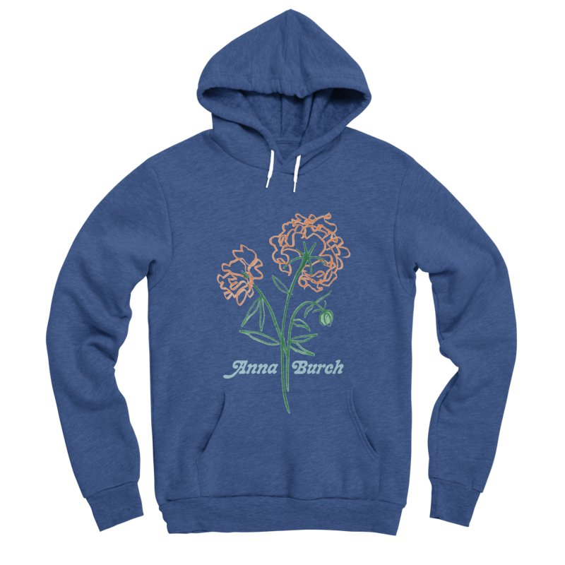 Anna Burch - Wall Flowers Men's Sponge Fleece Pullover Hoody by Polyvinyl Threadless Shop