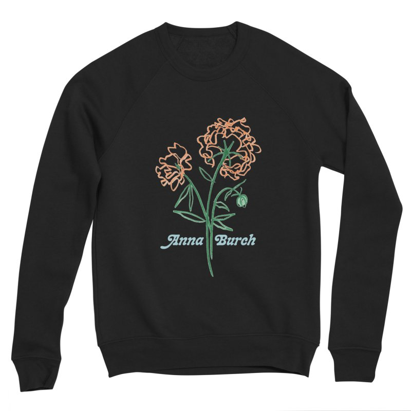 Anna Burch - Wall Flowers Men's Sponge Fleece Sweatshirt by Polyvinyl Threadless Shop