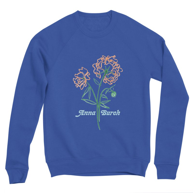 Anna Burch - Wall Flowers Women's Sponge Fleece Sweatshirt by Polyvinyl Threadless Shop