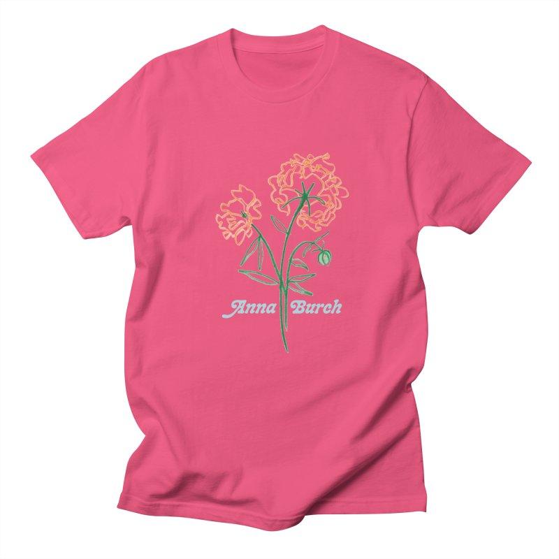 Anna Burch - Wall Flowers in Men's Regular T-Shirt Fuchsia by Polyvinyl Threadless Shop